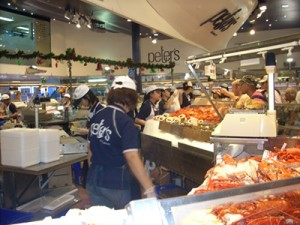 Busy day for Sydney Fish Market