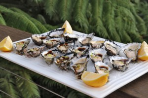 Sydney Rock Oysters with Japanese Dressing