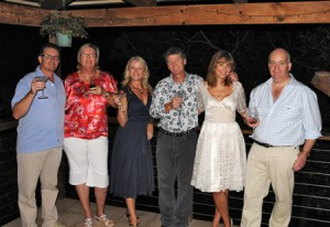 The party (excluding hubby Paul who took the photo!)