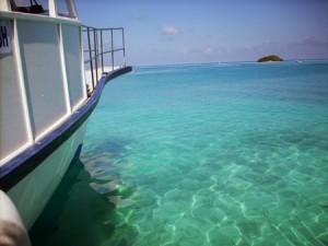 Pristine waters of the Maldives