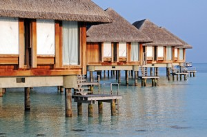Pristine blue waters and luxury accommodation