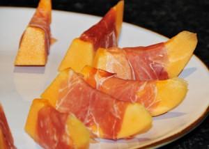 Best prosciuttowrapped around beautiful ripe rockmelon