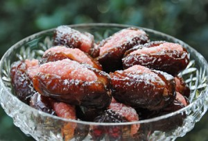 Almond & Rosewater Filled Fresh Dates