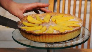 Mango Pie made using homemade shortcryst pastry
