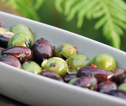 recipe: marinated olives
