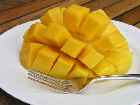 fruit of the month:  mangoes
