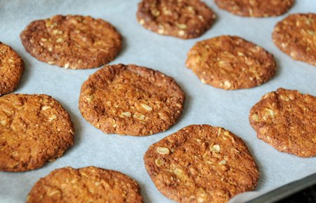 Recipe:  Anzac biscuits