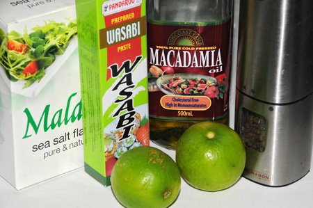 Recipe: Lime & Wasabi Dressing