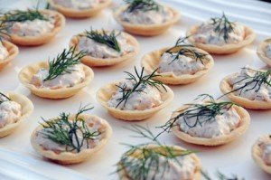 Recipe smoked salmon spread in pastry cases life 39 s a feast for Canape fillings