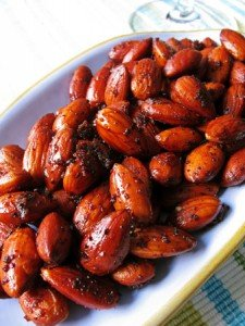 %nrecipes  Recipe: Spiced Roasted Almonds