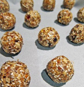 Vitality Balls ready to bake