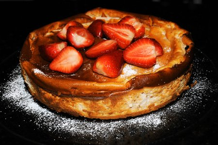 %nrecipes  Recipe: Strawberry Ricotta Cheesecake
