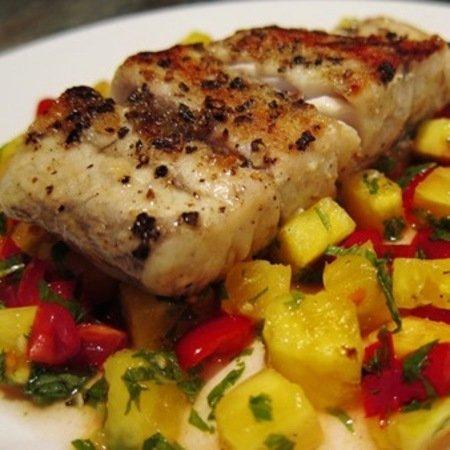 Recipe: Barbequed Barramundi with Pineapple Salsa