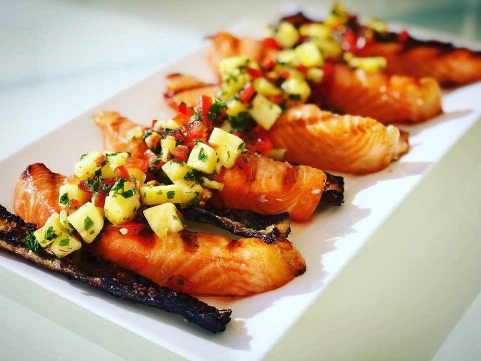 Seafood Barbecue Cooking Class - Hot Smoked Salmon