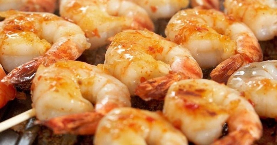 Seafood Barbecue Cooking Class - Prawns