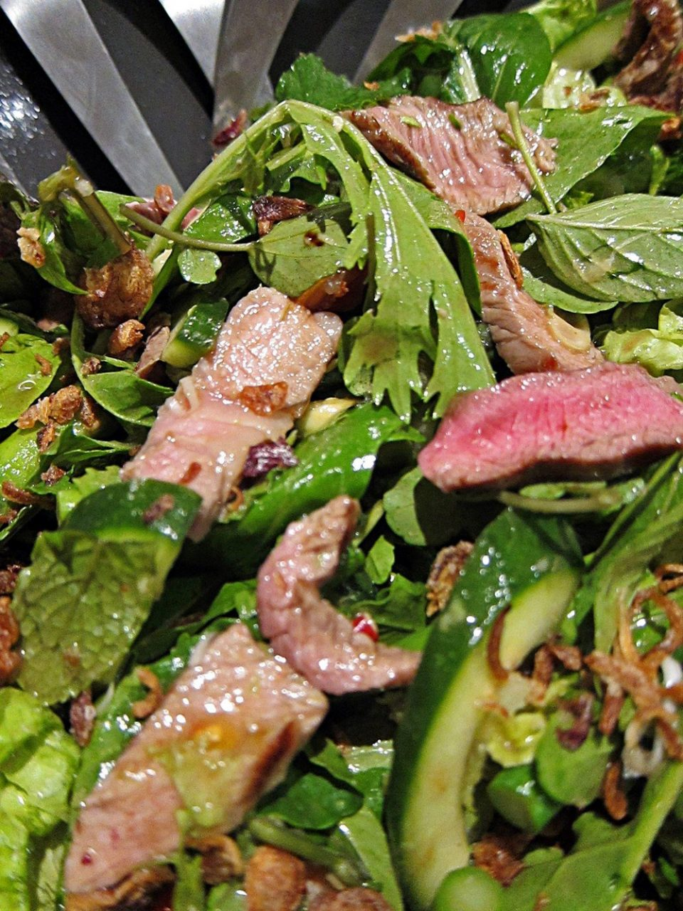 Easy Asian Dinner Party Cooking Class - Thai Beef Salad