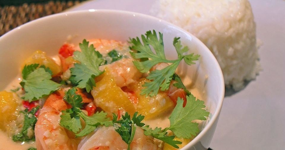 Easy Asian Dinner Party Cooking- Class-Thai Style- Prawn Mango Curry