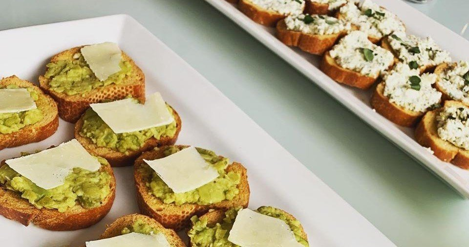 Italian Long Lunch Cooking Class - Assorted Crostini
