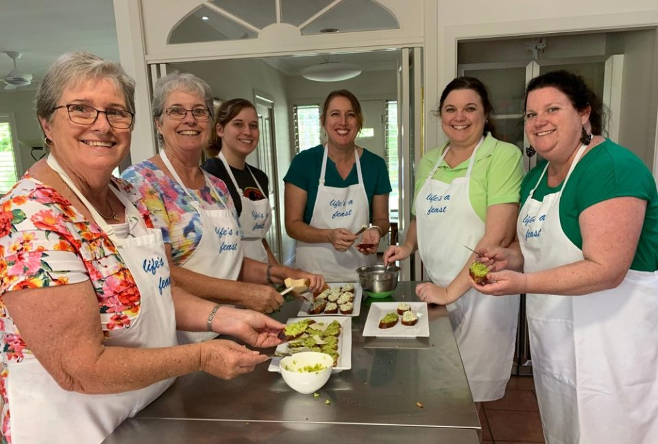 Plant-Based for Health & Taste Cooking Class - Cooking Class Participants